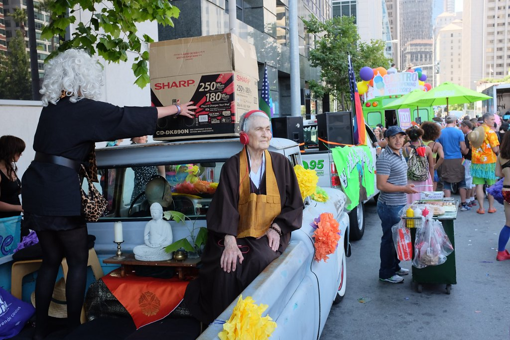 Zen Master at Pride Parade
